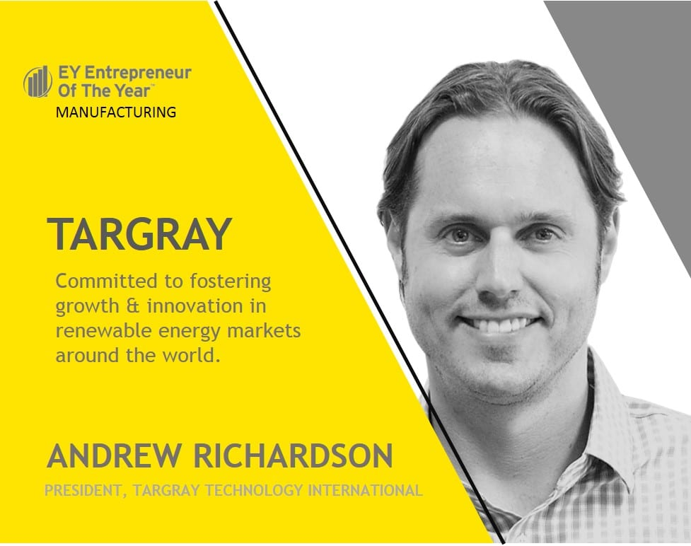 Andrew Richardson EY entrepreneur of the year