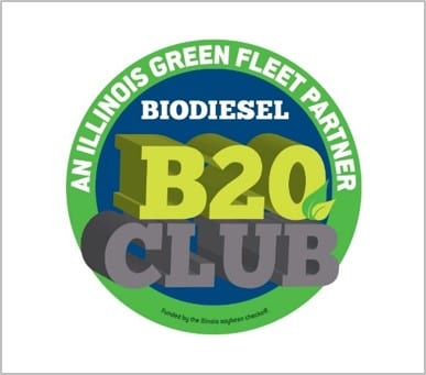 Illinois Soybean Association B20 Club Logo