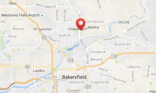 Targray biodiesel supplier location in Bakersfield
