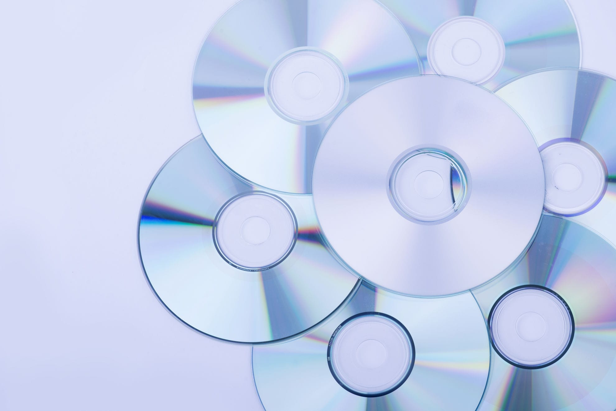 Optical disc materials