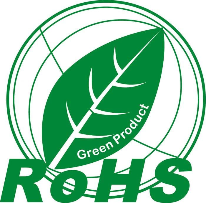 RoHS Green Product Certification logo