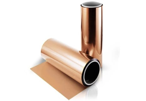 rolled copper foil materials