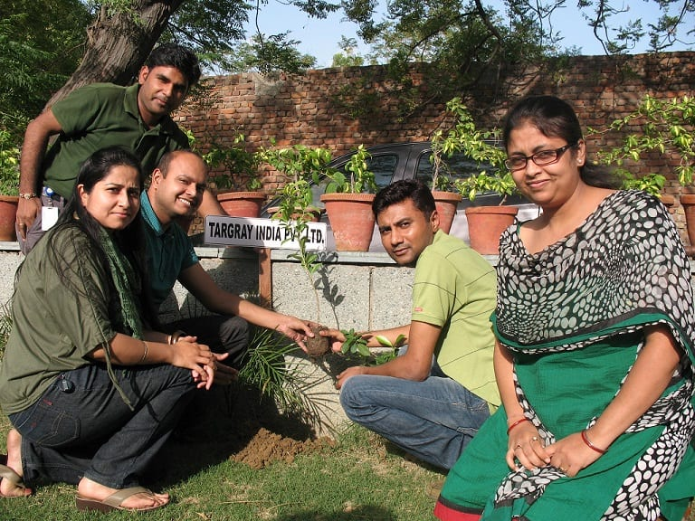 Targray India Team during Green Week