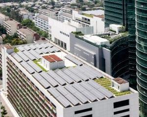 BIPV roof installation