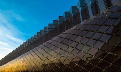 bipv solar roof tile project