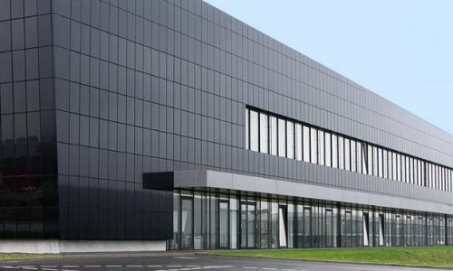 bipv solar wall project