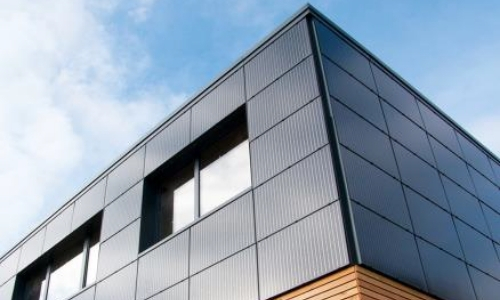 designer solar wall panels building