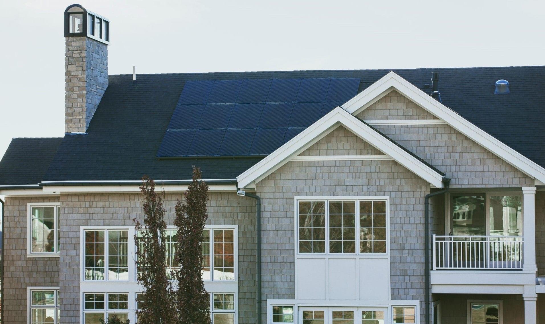 house solar roof
