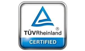 TUV Rheinland certification logo